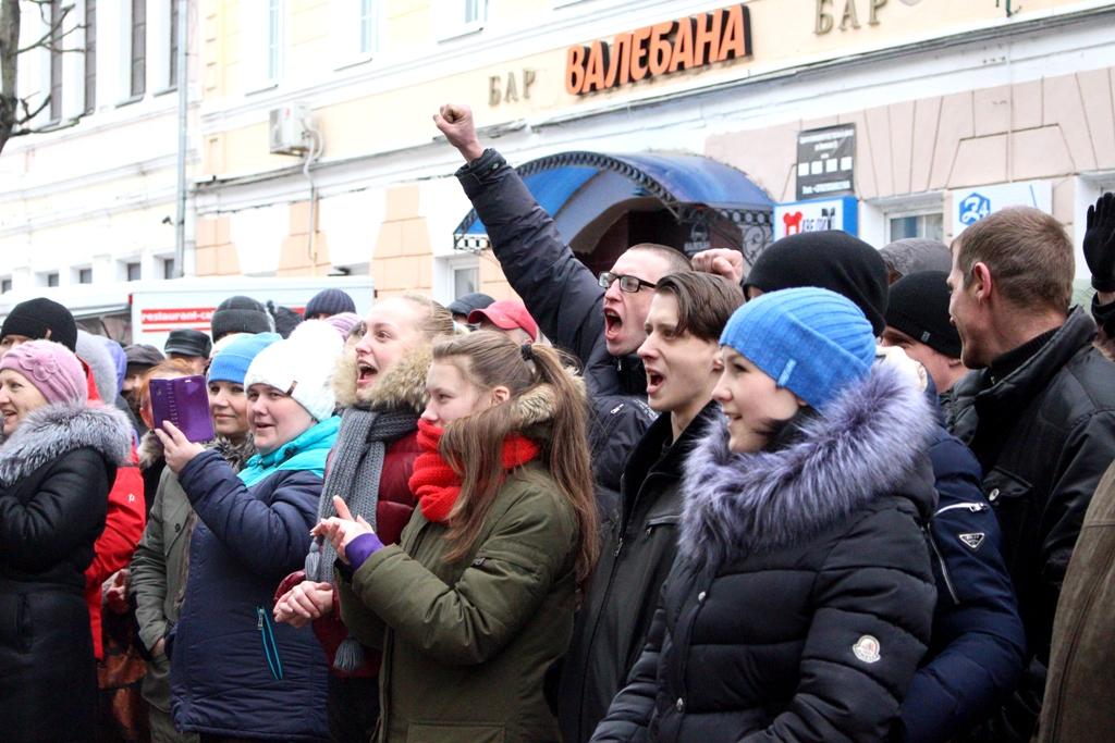 Актывісты АГП падалі заяўку на правядзенне мітынгу і шэсця 1 траўня ў Магілёве