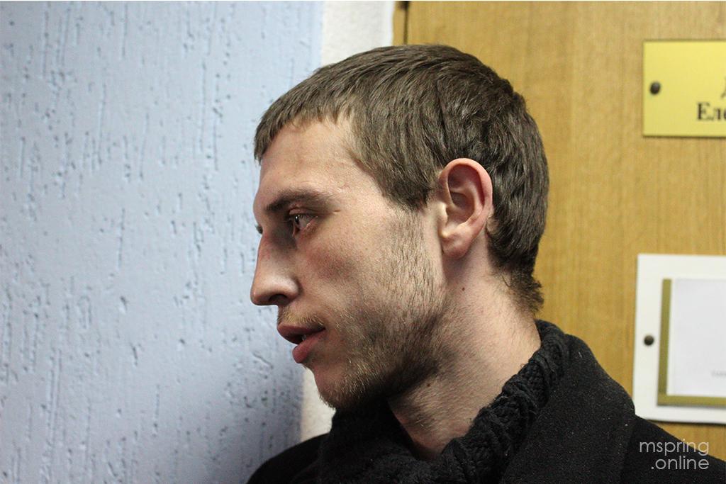 Магілёўскі актывіст Раман Мішчанка атрымаў 15 сутак за мітынг, якога не было