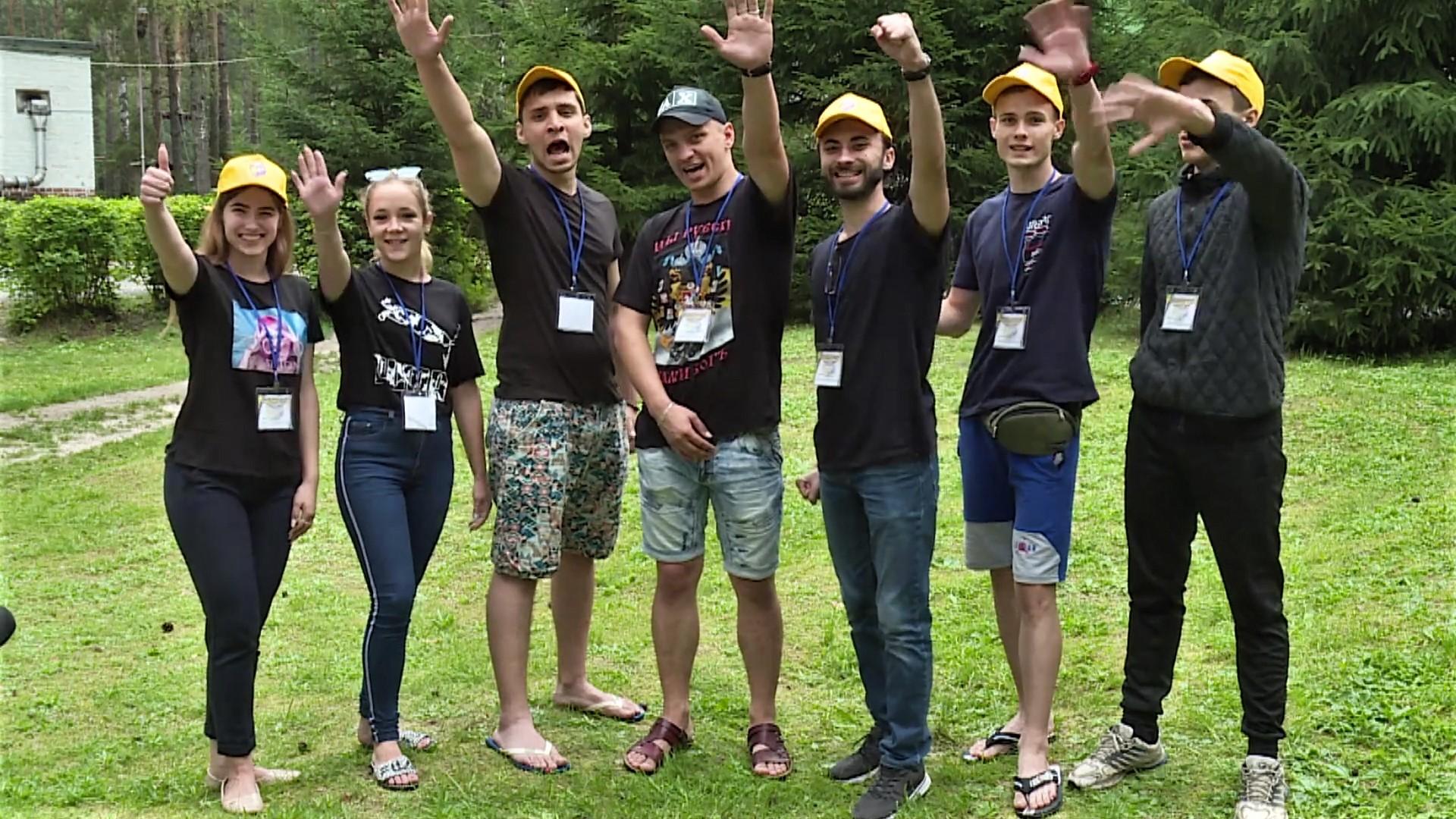 Магілёўскія студэнты паўдзельнічалі ў моладзевым лагеры разам са студэнтамі з «ДНР» і «ЛНР»