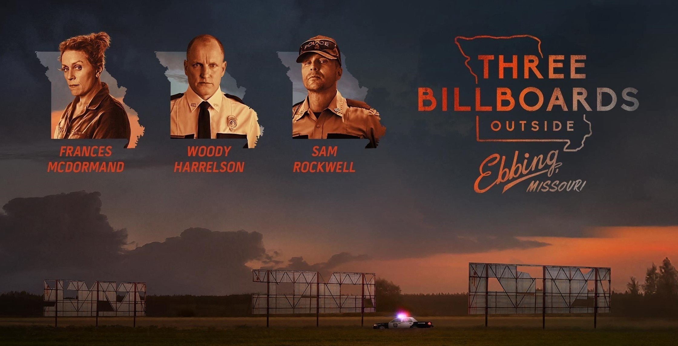 27 сентября – кинопросмотр с дискуссией «Три билборда на границе Эббинга, Миссури»