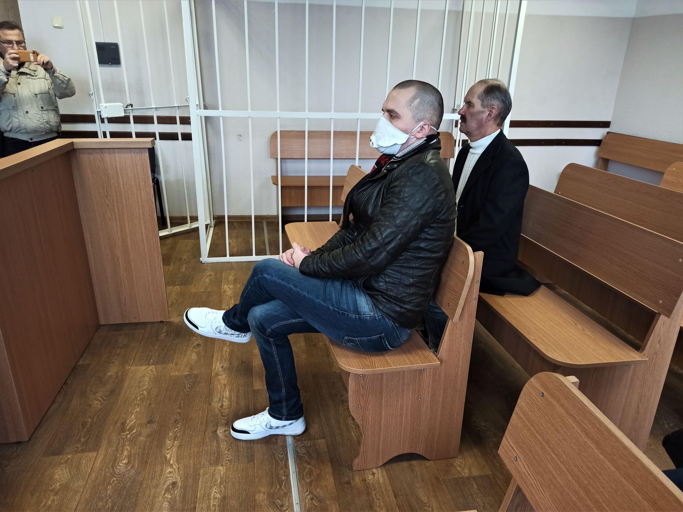 Два гады за абразу суддзі. У Магілёве – першы асуджаны па крыміналцы палітычны актывіст