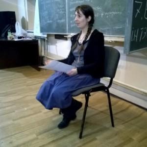 Правозащитница Настя Лойко рассказала могилевчанам, как не попасть под милицейский произвол