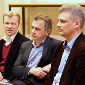 Лебедько, Рымашевский и Губаревич рассказали в Могилеве про «коалицию правоцентристов»
