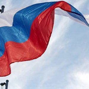 Российские флаги висели в Могилеве по рекомендации Союзного государства
