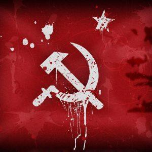 Могилевские патриоты под советскими символами. Фотофакт