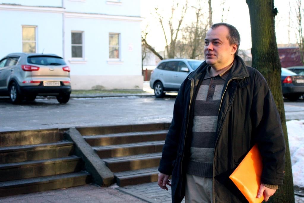 Аляксандр Ірхо выйграў суд у УУС Магілёўскага аблвыканкама