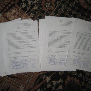 Подписи против налога на тунеядство передали всем могилевским депутатам