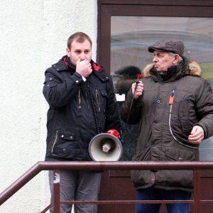 Кіраўніцтва «Омск Карбон Магілёў» паскардзілася ў міліцыю на экалагічнага актывіста