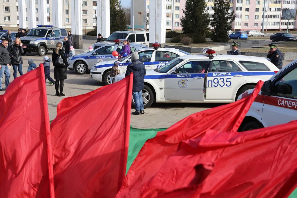 Бобруйская милиция провела брутальный обыск в местном офисе ОГП (+видео)