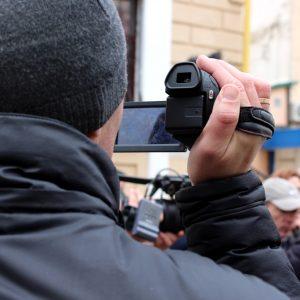 На могилевскую акцию протеста пришли в основном тихари и журналисты (ФОТО и ВИДЕО)