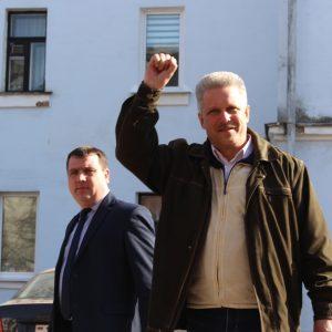 Могилевскому координатору «Марша нетунеядцев» Олегу Аксёнову дали 15 суток