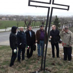 Чарнобыльская гадавіна ў Магілёве: 9 чалавек ля жалезнага крыжа