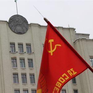 Магілёўскія камуністы адсвяткавалі дзень нараджэння Леніна мітынгам у цэнтры горада. Хіба так можна?