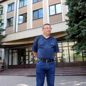 Журналіст Уладзімір Лапцэвіч на шляху да ААН