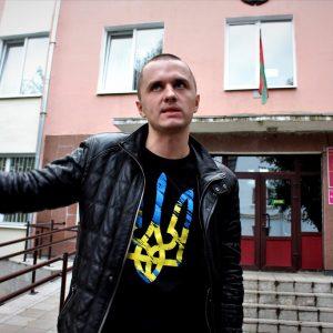 Могилевский активист Павлинкович хотел на День Воли, но оказался на ИВС