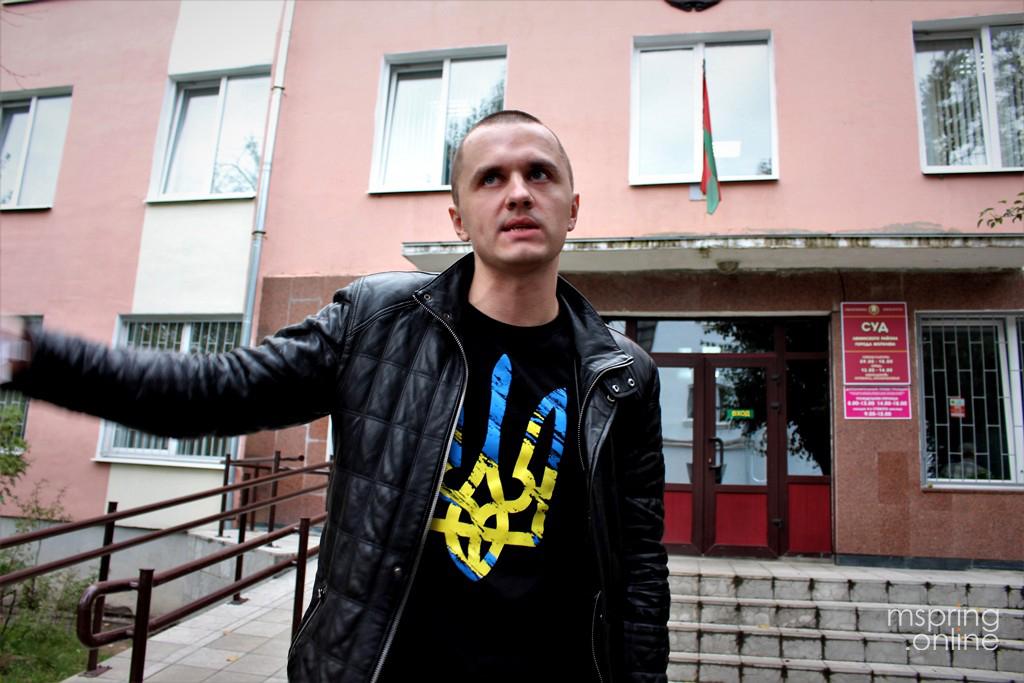 Станіславу Паўлінковічу за ўдзел у менскай «Акцыі папярэджання» далі штраф