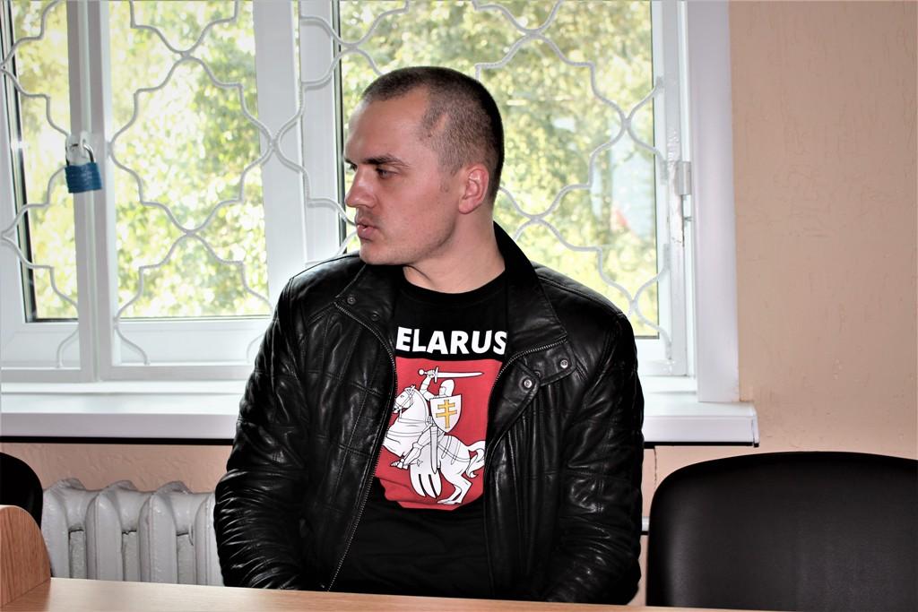 Магілёўскага актывіста арыштавалі на 15 сутак за абразу і непадпарадкаванне міліцыі