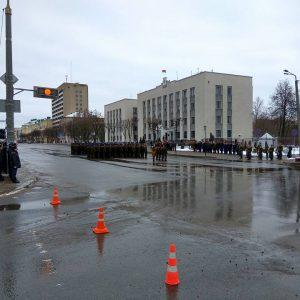 З-за свята КДБ у Магілёве перакрылі цэнтр горада