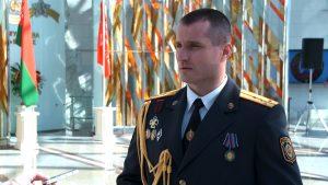 АМАПавец,які затрымаўпалітычнага актывіста, раней атрымаў медаль «За адвагу»