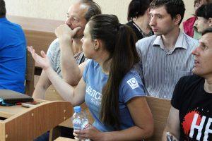 Устроившим демарш могилевским журналистам дали 80 базовых штрафа