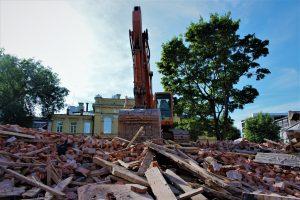 Дом у цэнтры Магілёва, за які галадалі пяць чалавек, разбурылі (ФОТА)
