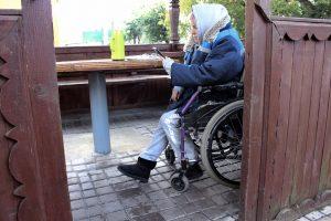Жанчына з інваліднасцю абвясціла галадоўку пад магілёўскай турмой