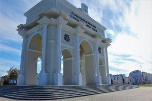 Могилевскую арку официально открыли. К ней можно попасть только нарушив правила дорожного движения (ФОТО)