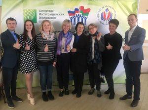 """Могилёвские студенты в Смоленске планировали общее будущее """"Союзного государства"""""""