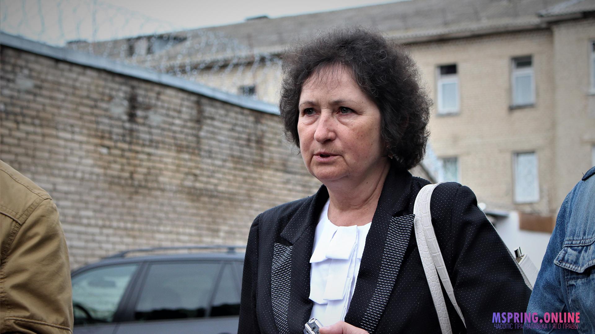 Дэпутат Палаты прадстаўнікоў Алена Анісім наведала магілёўскую турму