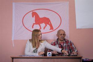 Аб'яднаная грамадзянская партыя заявіла пра пачатак перадвыбарчай кампаніі ў Магілёве. Галоўны довад – барацьба з «Омск карбон»