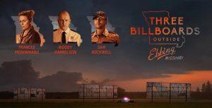 27 верасня – кінапрагляд з дыскусіяй «Тры білборды на мяжы Эбінга, Місуры»