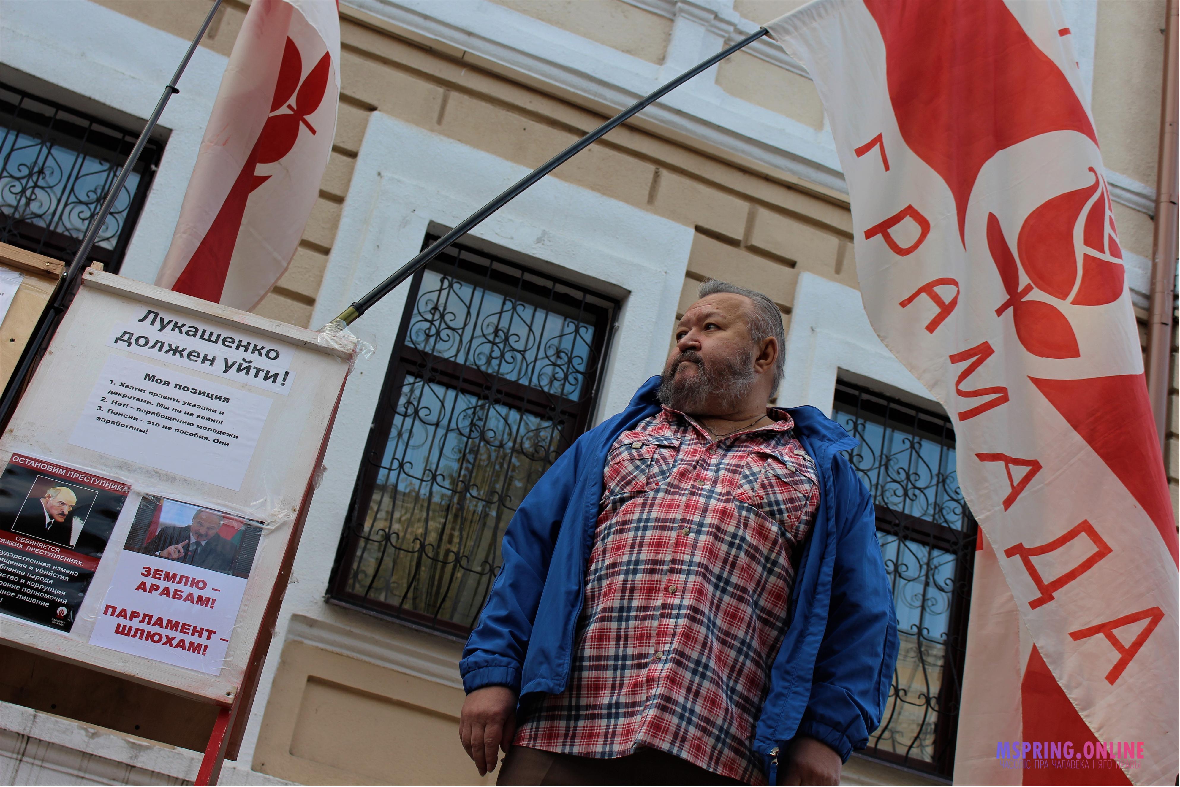 Статкевич, Лукашенко, Лукашенко и плечики «тихаря». В Могилеве прошёл самый яркий политический митинг года ФОТО