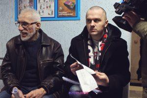 Суд адмяніў штраф магілёўскаму актывісту за снежаньскую акцыю пратэсту супраць інтэграцыі з РФ