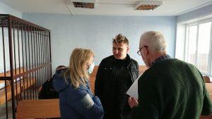 Быстрый, тайный суд: Алесю Буракову также дали 10 суток ареста