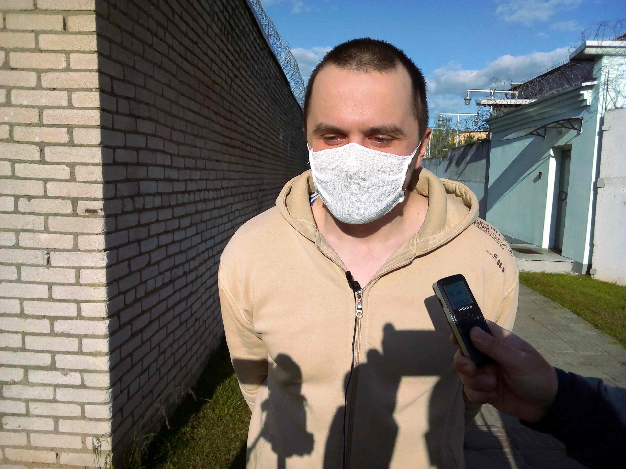 Станислав Павлинкович вышел из могилёвского ИВС и сообщил, что ему дали ещё 15 суток