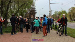 Участник массовой акции протеста в Могилеве попал из ИВС в больницу с подозрением на COVID-19