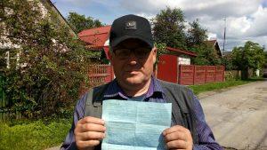 Милиция хочет наказать кандидата экономических наук за сбор подписей в Шклове