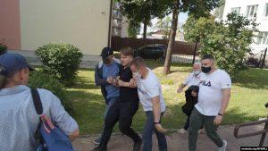 """Затрыманы праваабаронца """"Вясны"""" Алесь Буракоў"""
