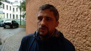 Міліцыя помсціць ахвярам збіцця і катаванняў. Уладзіміра Гарунова без суда арыштавалі на 10 сутак